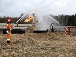 Площадка ликвидации ЧС на объектах газоснабжения