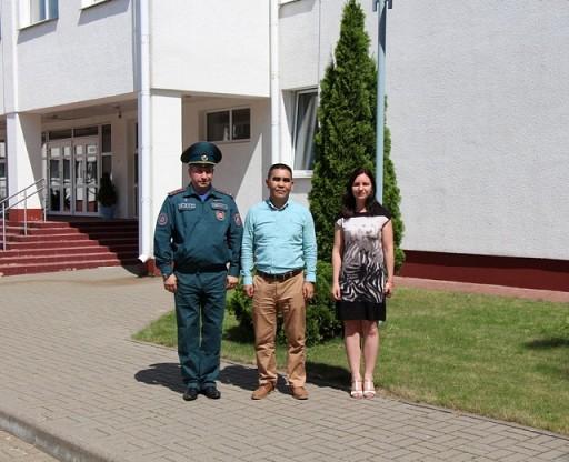 Visit from Kazakhstan