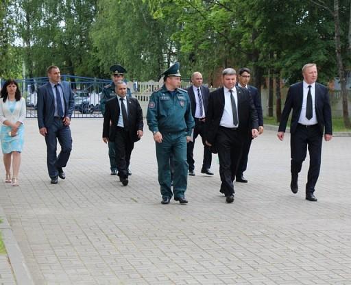 Visit from Turkmenistan