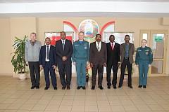 Visit from Sudan