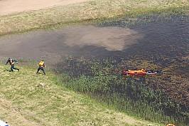Площадка по отработке упражнений терпящих бедствие на воде