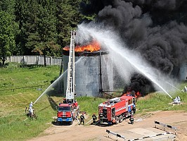 Площадка ликвидации ЧС на складах нефти и нефтепродуктов