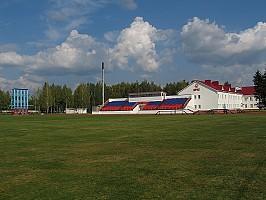 Стадион с учебной пожарной башней